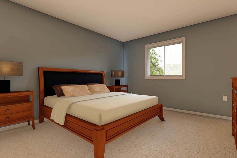 3 Car Garage Apartment Plan 90941 with 2 Beds, 1 Baths Picture 7