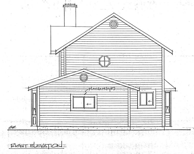 Country, Craftsman House Plan 90951 with 3 Beds, 3 Baths, 1 Car Garage Picture 2
