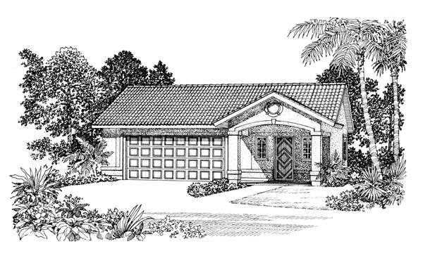 Garage Plan 91263