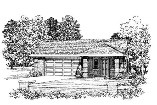 Garage Plan 91264