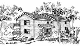 Plan Number 91320 - 2272 Square Feet