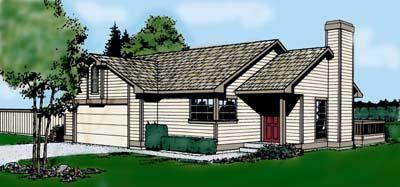 House Plan 91666