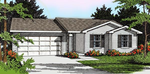 House Plan 91694