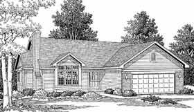 Plan Number 92056 - 1425 Square Feet