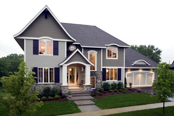 House Plan 92352 with 4 Beds, 5 Baths, 3 Car Garage Elevation
