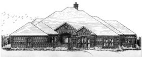 Plan Number 92902 - 2787 Square Feet