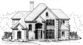 Plan Number 92904 - 2969 Square Feet