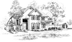 Plan Number 92905 - 3141 Square Feet