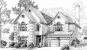 Plan Number 92908 - 3373 Square Feet