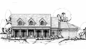 Plan Number 92909 - 3561 Square Feet