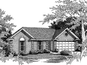 Plan Number 93017 - 1142 Square Feet