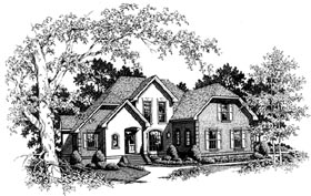 Plan Number 93400 - 2341 Square Feet