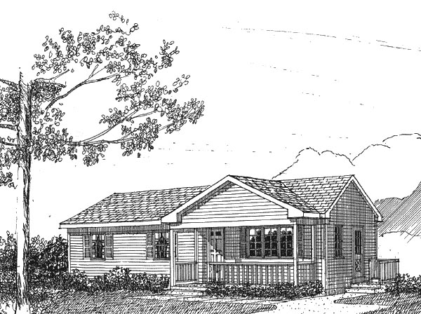 House Plan 94000