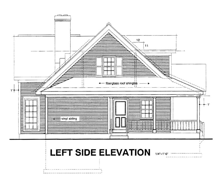 Country House Plan 94003 with 3 Beds, 3 Baths Picture 1