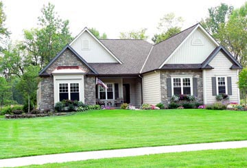 One-Story, Ranch House Plan 94157 with 2 Beds, 2 Baths, 3 Car Garage Picture 1