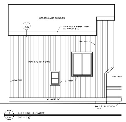 Contemporary House Plan 94312 with 2 Beds, 2 Baths Picture 2