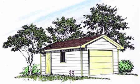 Garage Plan 94335