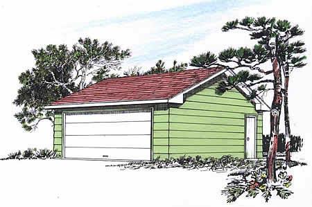 Garage Plan 94336