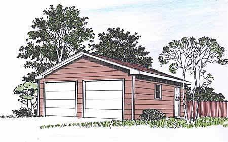Garage Plan 94337