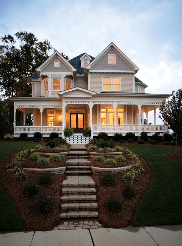 Country, Farmhouse, Victorian House Plan 95560 with 4 Beds, 4 Baths, 2 Car Garage Picture 12