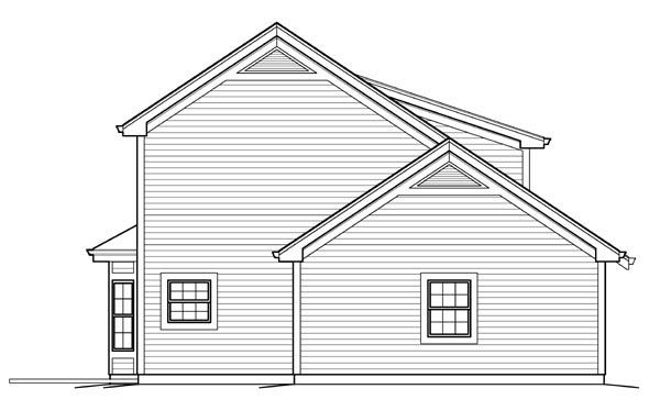 Contemporary, Country House Plan 95832 with 1 Beds, 2 Baths, 4 Car Garage Picture 1