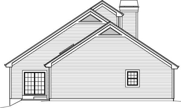 Contemporary, Country House Plan 95848 with 3 Beds, 3 Baths, 2 Car Garage Picture 1