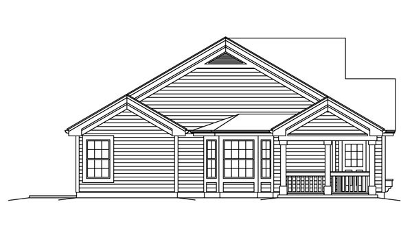 Country, Ranch Multi-Family Plan 95864 with 4 Beds, 4 Baths Picture 1