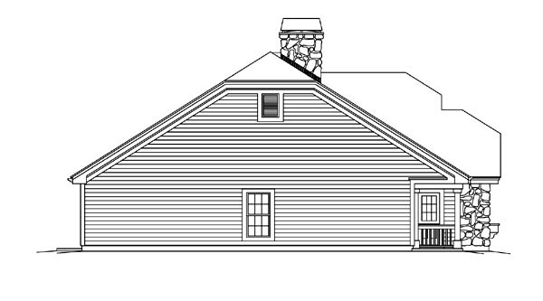 Country, Ranch House Plan 95870 with 3 Beds, 3 Baths, 3 Car Garage Picture 1