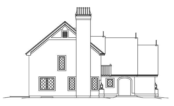 Cabin, Cottage, Craftsman, European, Tudor House Plan 95876 with 3 Beds, 3 Baths, 2 Car Garage Picture 1
