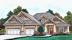 Plan Number 96342 - 1921 Square Feet