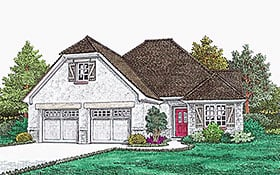 Plan Number 96349 - 1302 Square Feet