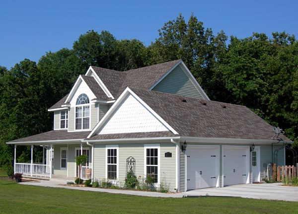 Country, Farmhouse, Southern House Plan 96820 with 4 Beds, 3 Baths Picture 2