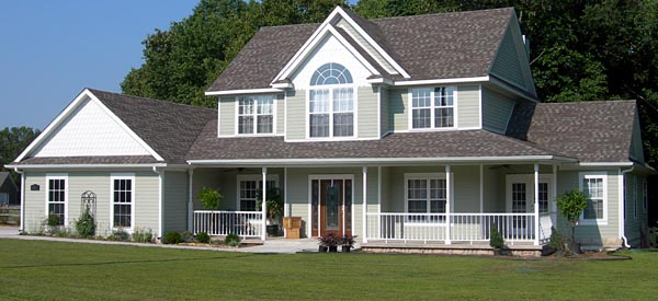 Country, Farmhouse House Plan 96833 with 4 Beds, 3 Baths, 3 Car Garage Picture 1