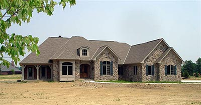 Bungalow, Country House Plan 97131 with 4 Beds, 3 Baths, 2 Car Garage Picture 4