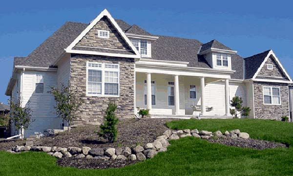 European House Plan 97406 with 4 Beds, 3 Baths, 2 Car Garage Picture 1