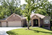 European House Plan 97489 with 3 Beds, 3 Baths, 2 Car Garage Picture 1