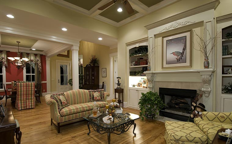 Country, Southern, Traditional House Plan 97606 with 3 Beds, 3 Baths, 2 Car Garage Picture 3