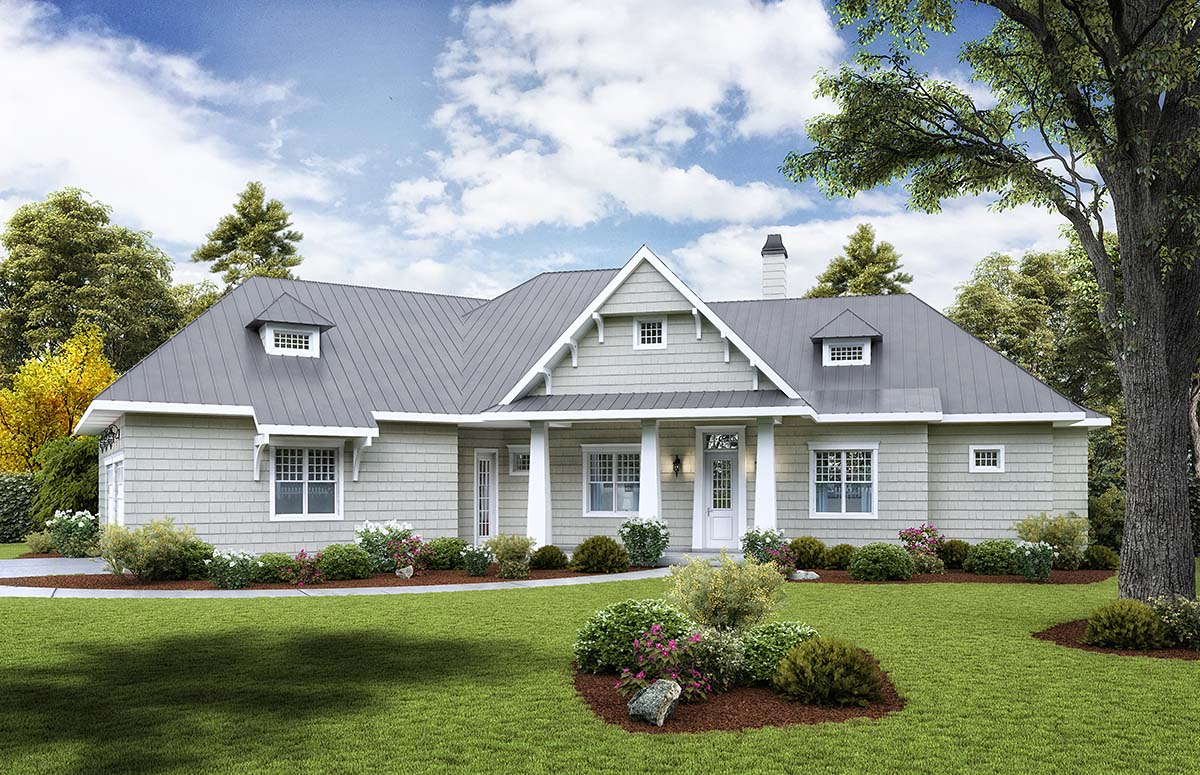 House Plan 97645 Craftsman Style With