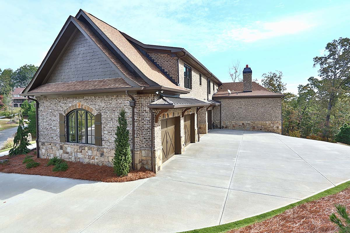Craftsman, Ranch, Tuscan House Plan 97680 with 3 Beds, 4 Baths, 3 Car Garage Picture 2