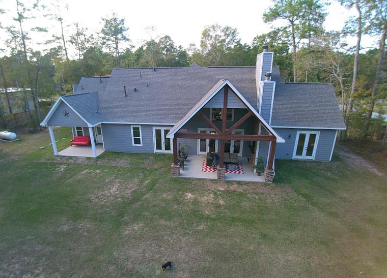 Country, Craftsman, Traditional, Tudor House Plan 98267 with 3 Beds, 4 Baths, 3 Car Garage Picture 3
