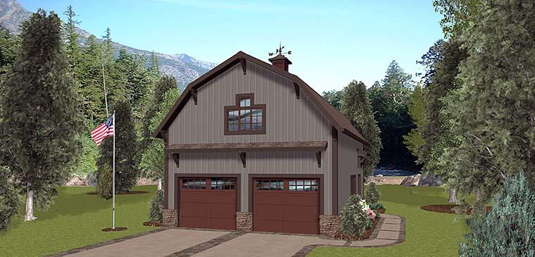 Garage Plan 98403