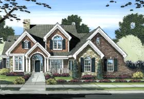 Plan Number 98603 - 2873 Square Feet