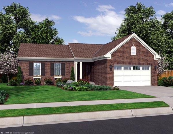 House Plan 98637