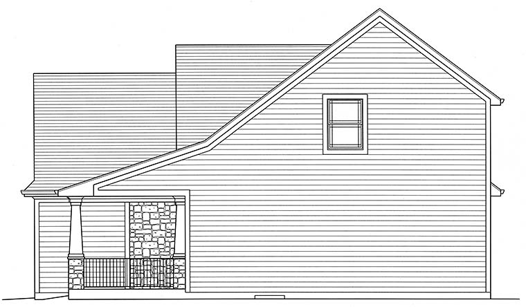Cottage, Craftsman House Plan 98642 with 4 Beds, 3 Baths, 2 Car Garage Picture 1
