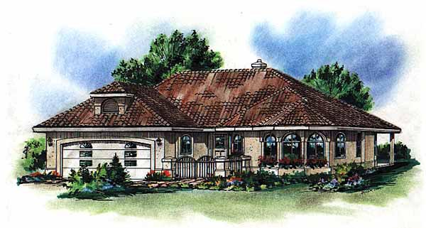 House Plan 98807