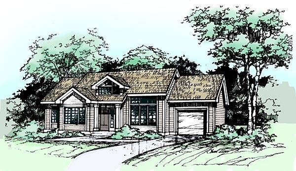 House Plan 99364