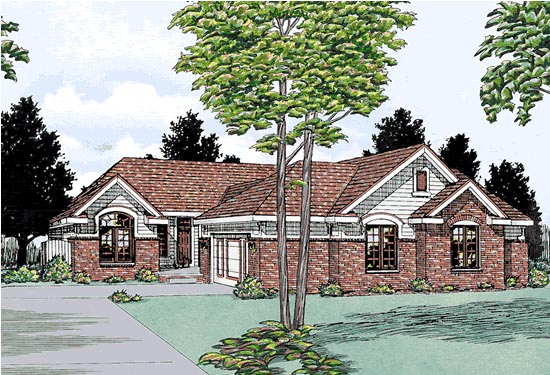 Traditional Multi-Family Plan 99427 with 5 Beds, 6 Baths, 4 Car Garage Elevation