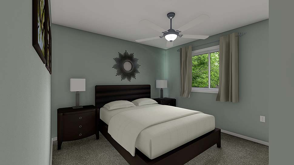 3 Car Garage Apartment Plan 99939 with 2 Beds, 2 Baths Picture 7