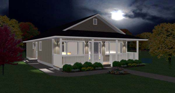 Country, Ranch House Plan 99960 with 3 Beds, 2 Baths Picture 1