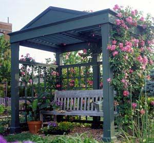 300913 - Garden Arbor